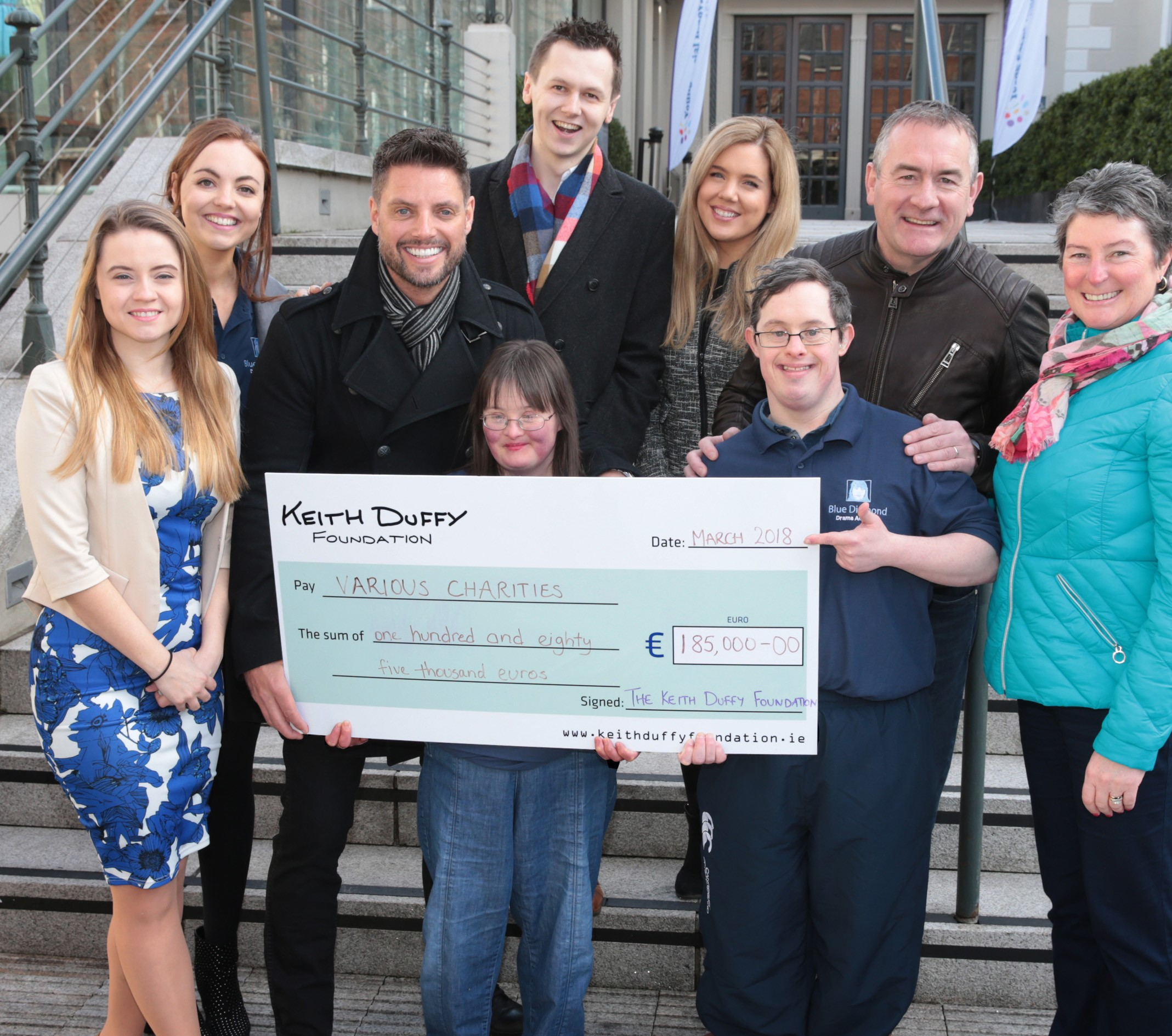 Children's charity helping families, Keith Duffy