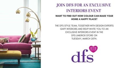 DFS Interior children's charity ireland