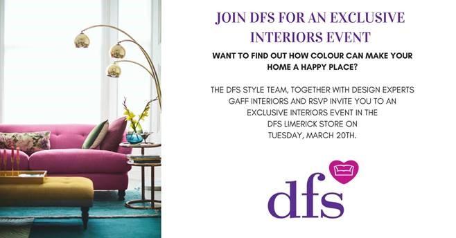DFS Interior children's charity ireland